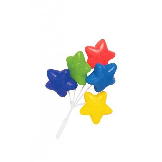 Taart decroatie tros ballonnen met ster
