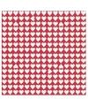 Liefde servetten met kleine hartjes
