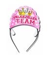 Tiara vrijgezellen team roze