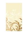 Bruiloft tafelkleed beige barok print 138 x 220 cm
